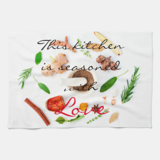 This kitchen is seasoned with love towels