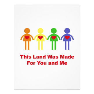 This Land Was Made for You and Me Letterhead