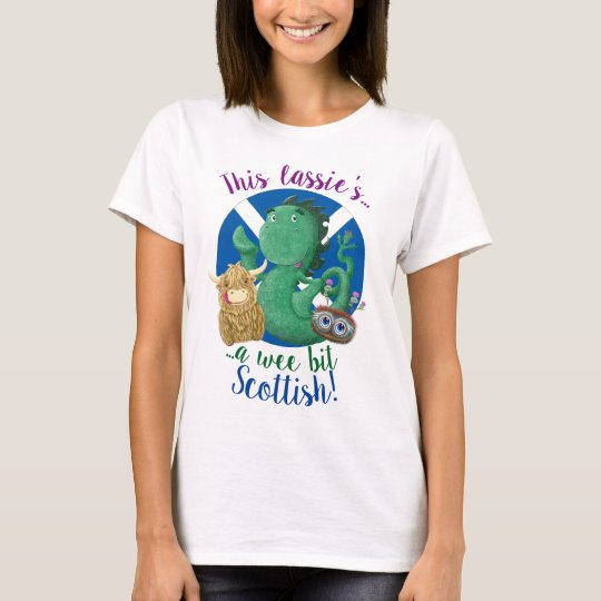 This Lassie's A Wee Bit Scottish! T-Shirt