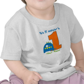 This Lil Monster First Birthday Shirt