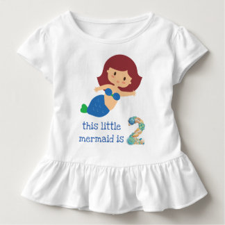 This Little Mermaid is 2 Toddler T-shirt