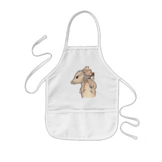 This Little Mouse Kids Apron