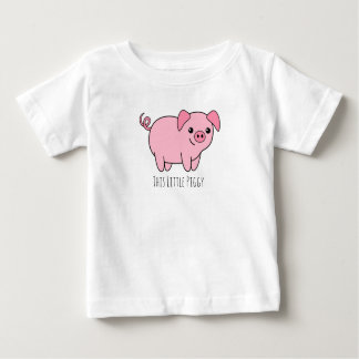 This Little Piggy Baby Fine Jersey T-Shirt