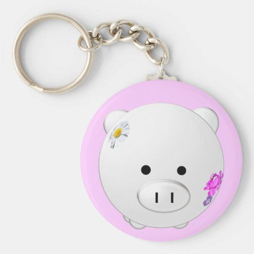 This Little Piggy Key Chains