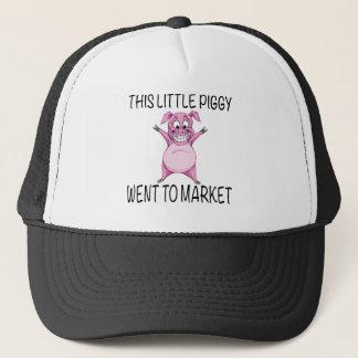 This Little Piggy Went To Market. Trucker Hat