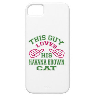 This Loves His Havana Brown Cat iPhone 5/5S Cases