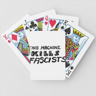 """""""This Machine Kills Fascists"""" Poker Deck"""