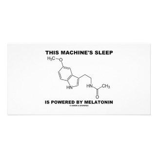 This Machine's Sleep Is Powered By Melatonin Photo Card
