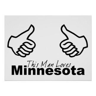 This Man Loves MN Posters