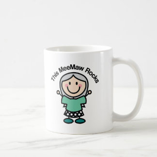 This Meemaw Rocks Gift Idea Coffee Mug