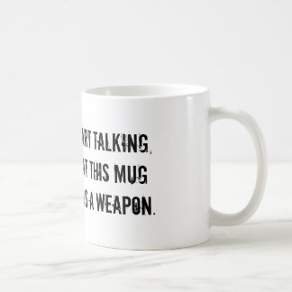This mug doubles as a weapon