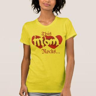 This mum Rocks Tee Shirts