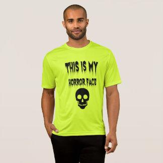 This My Horror Face Halloween Horror Night Shirt