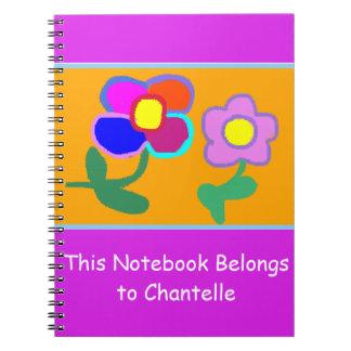 'This Notebook Belongs To Chantelle' Notebook