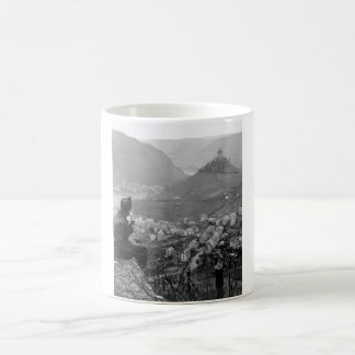 This old castle perched on a hilltop_war Image Coffee Mug