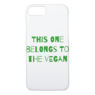 This one belongs to the vegan Case-Mate iPhone case