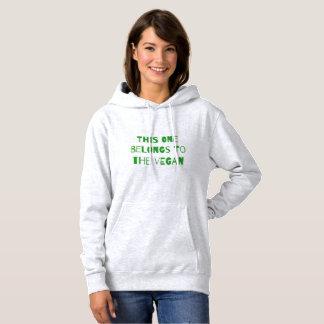 This one belongs to the vegan hoodie