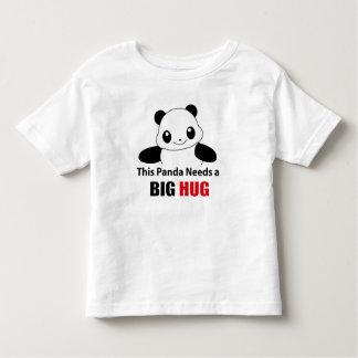 This Panda needs a big hug Toddler Fine Jersey Toddler T-shirt
