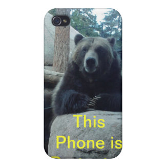 This  Phone is Protected iPhone 4/4S Cases