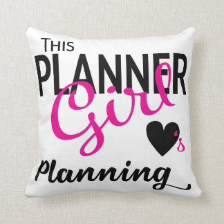This Planner Girl Love Planning Pillow