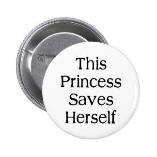 This Princess Saves Pins