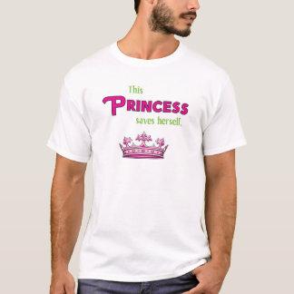 This Princess Saves Herself T-Shirt