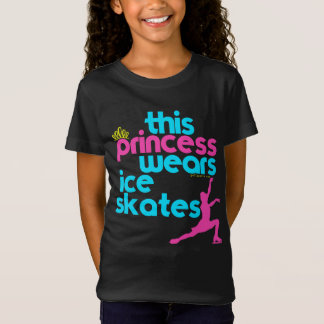 This Princess Wears Ice Skates - Golly Girls T-Shirt