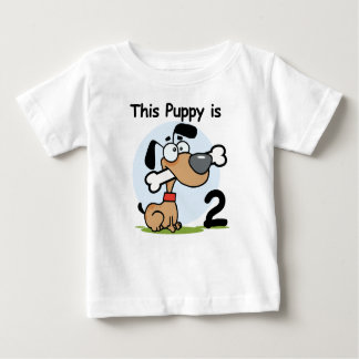 This Puppy 2nd Birthday T shirts and Gifts