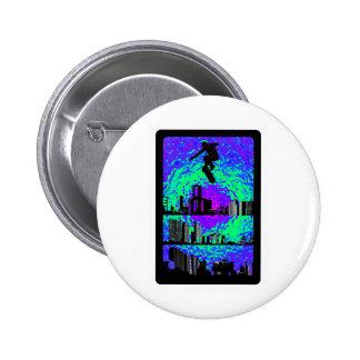 This Purple Haze 2 Inch Round Button