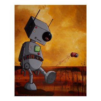 This Robot is Bored Poster