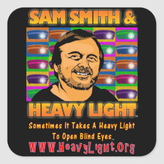 This SAM SMITH and HEAVY LIGHT STICKER
