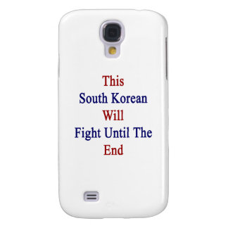 This South Korean Will Fight Until The End Galaxy S4 Case
