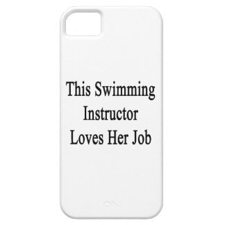 This Swimming Instructor Loves Her Job iPhone 5 Covers