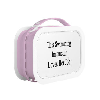 This Swimming Instructor Loves Her Job Lunch Boxes