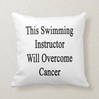 This Swimming Instructor Will Overcome Cancer Pillows