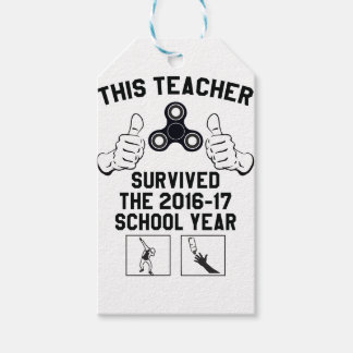 This teacher survived the school year gift tags