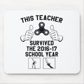 This teacher survived the school year mouse pad