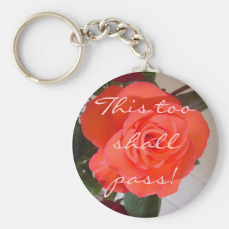 This too shall pass! keychain