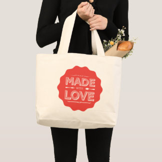 This tote is made with love!