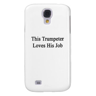 This Trumpeter Loves His Job