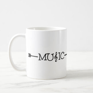 This way to music mug