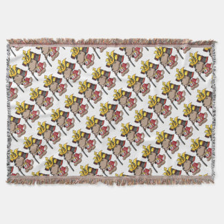 This week is, the cup English story Ota Gunma Throw Blanket