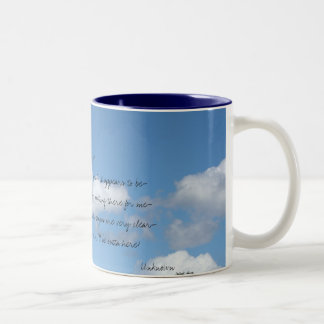 This world is not my home... Two-Tone coffee mug