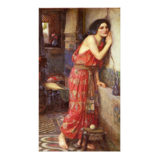 Thisbe by John William Waterhouse Photo Print