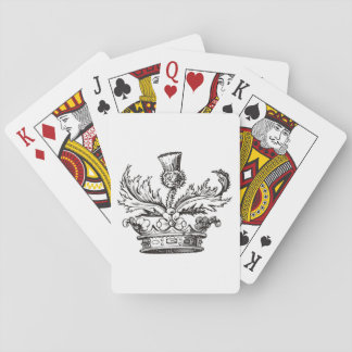 Thistle Crest Playing Cards