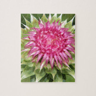 Thistle Flower Jigsaw Puzzle
