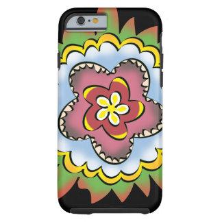 Thistle flower tough iPhone 6 case