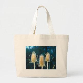 Thistle Trio Large Tote Bag