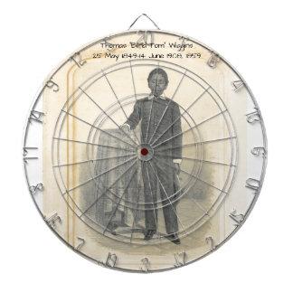 """Thomas """"Blind Tom"""" Wiggins, 1859 Dartboard"""