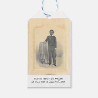 "Thomas ""Blind Tom"" Wiggins, 1859 Gift Tags"